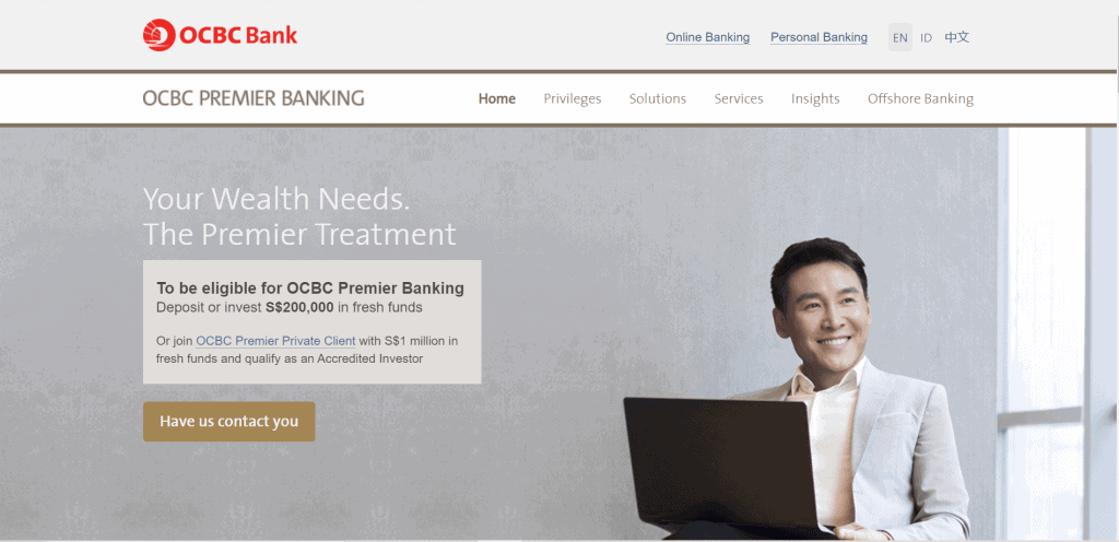 best priority banking singapore