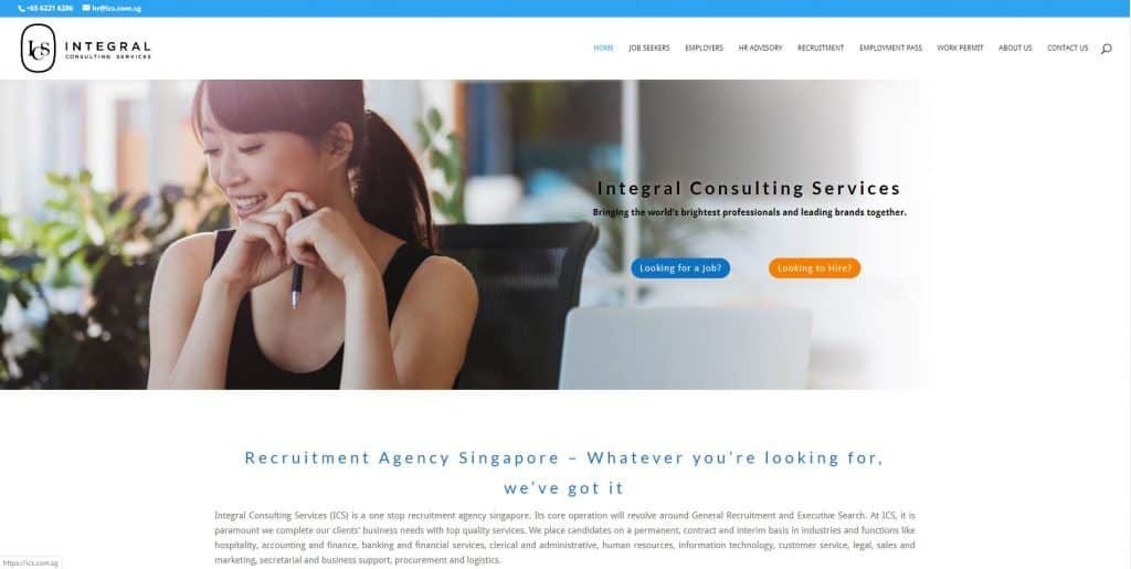 best recruitment agency in singapore_integral consulting services