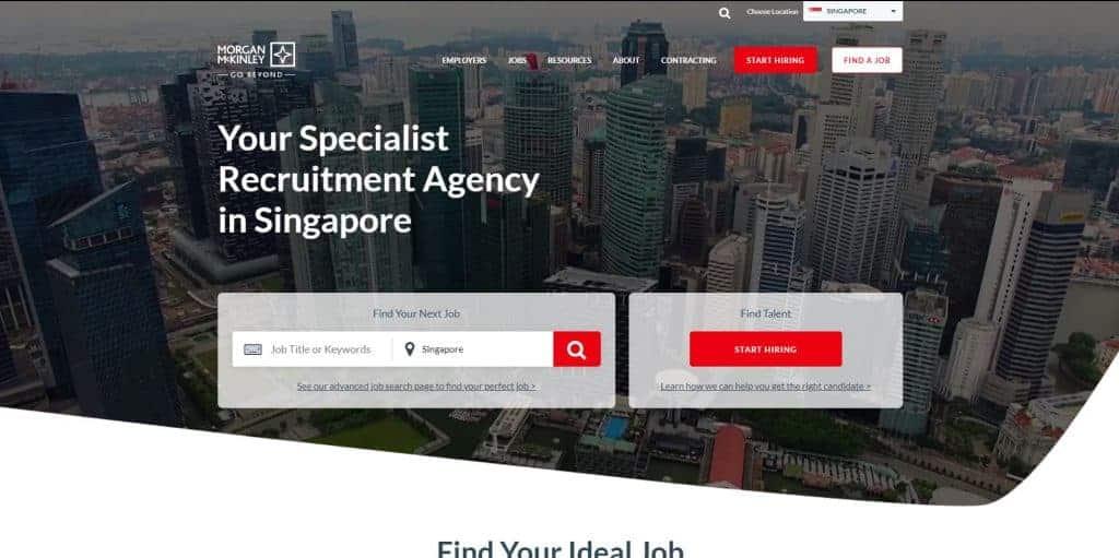 best recruitment agency in singapore_morgan mckinley