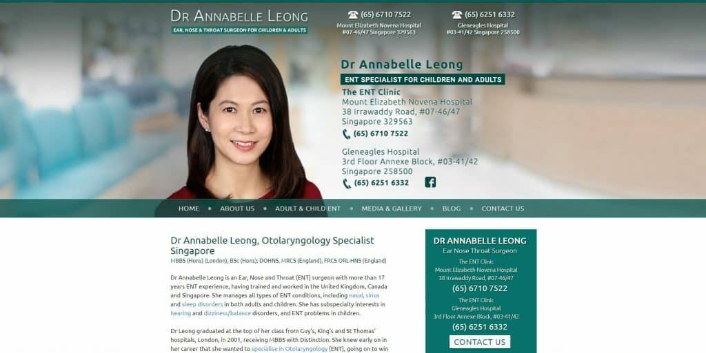 best sleep clinic in singapore_dr annabelle leong