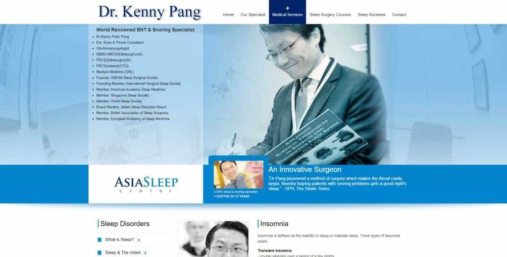 best sleep clinic in singapore_dr kenny pang