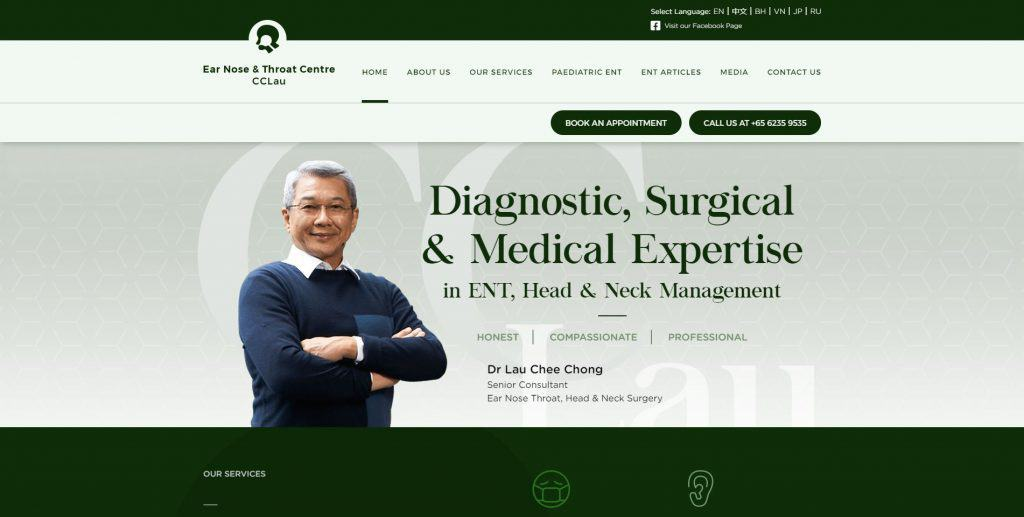 best sleep clinic in singapore_ear nose and throat centre cc lau
