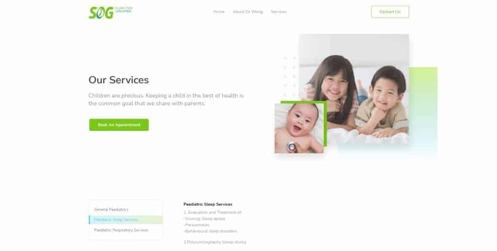 best sleep clinic in singapore_sog clinic for children