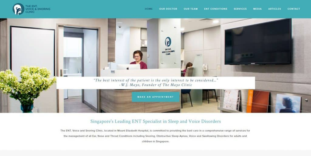 best sleep clinic in singapore_the ent, voice and snoring clinic