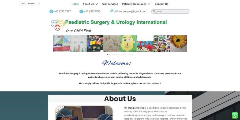 best urologist in singapore_paediatric surgery and urology international