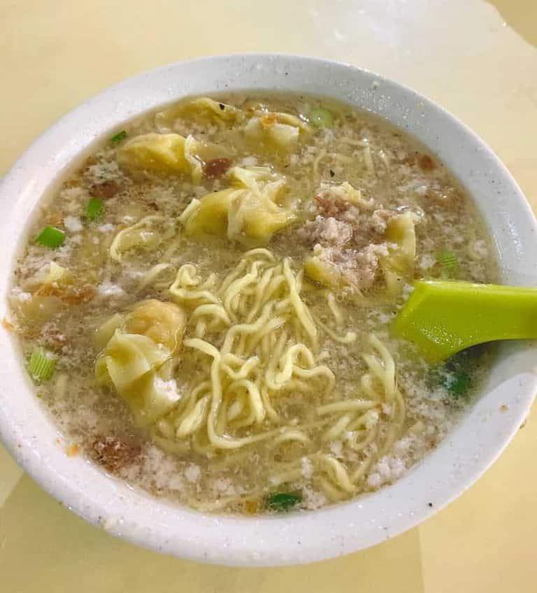 best bak chor mee in singapore_58 minced meat mee