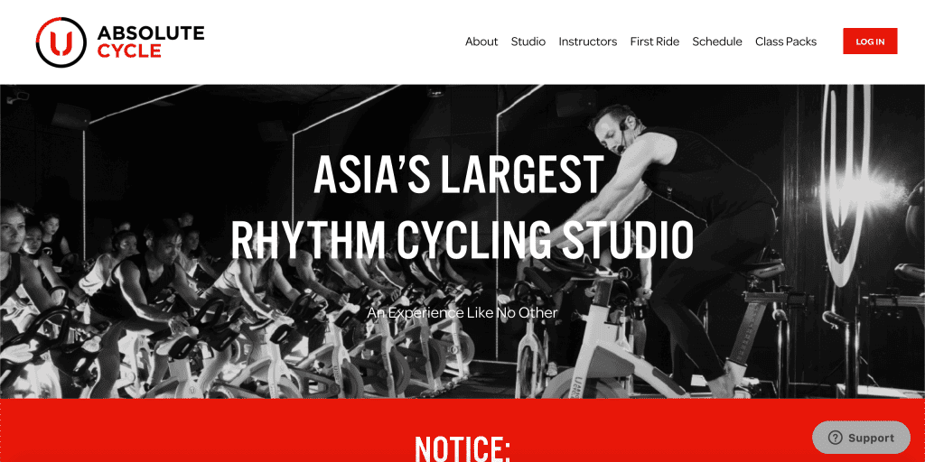 best spin class in singapore_absolute cycle