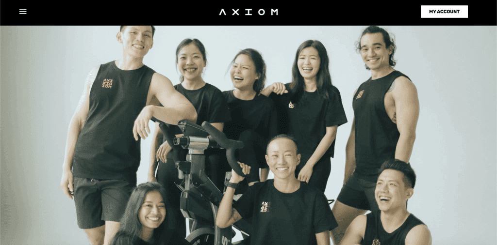 best spin class in singapore_axiom