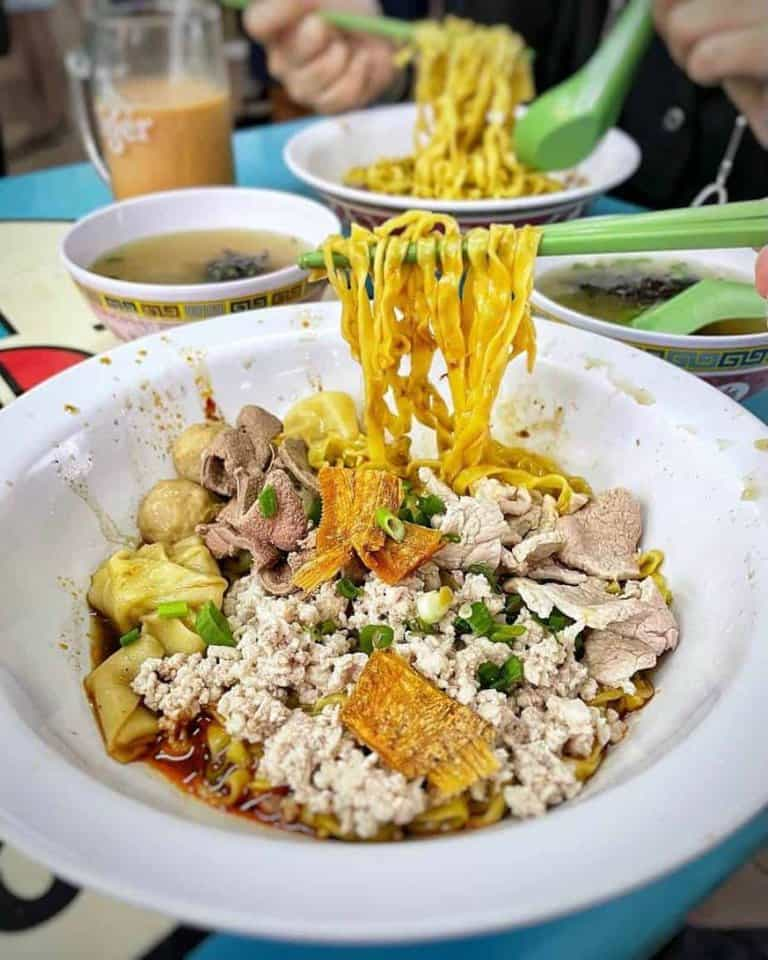 best bak chor mee in singapore_hill street tai hwa pork noodle