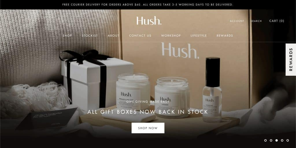 wedding gift shop in singapore_hush candle