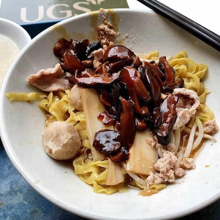 best bak chor mee in singapore_li yuan mee pok