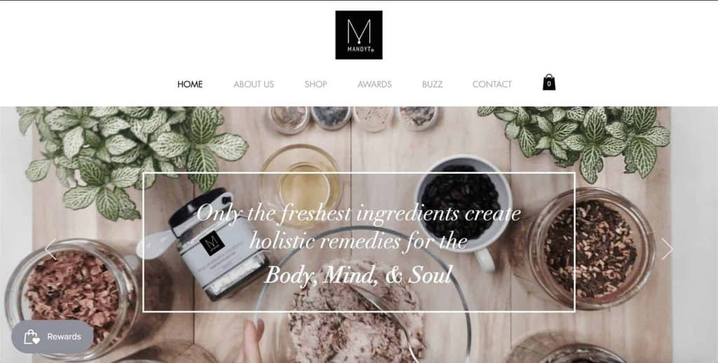 wedding gift shop in singapore_mandy t handcrafted skincare