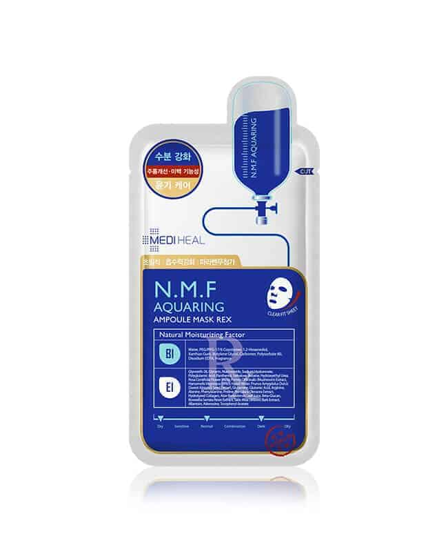 best face mask in singapore_mediheal nmf aquaring ampoule mask