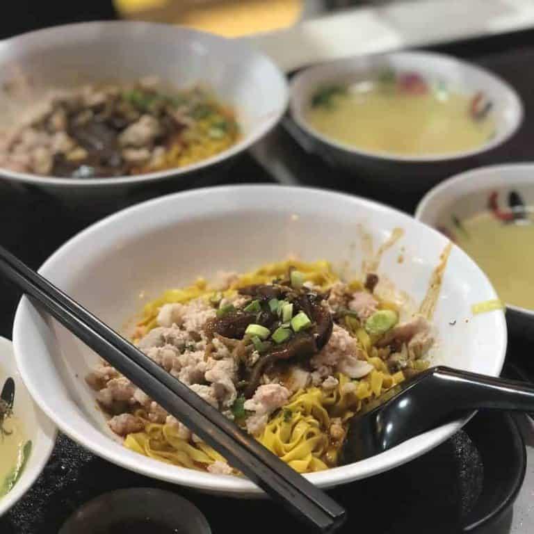 best bak chor mee in singapore_seng huat bak chor mee