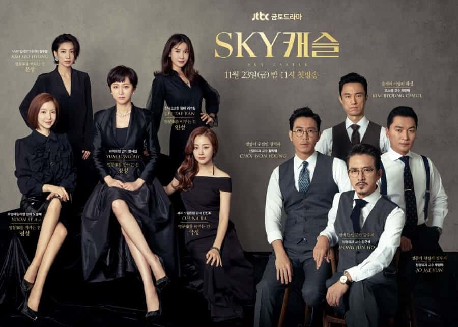 best korean drama of all time_sky castle