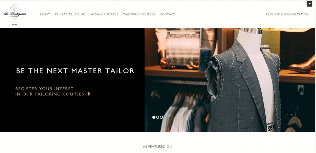 best custom tailor singapore