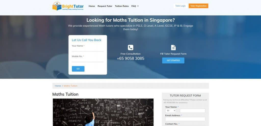best math tuition in singapore_bright tutor