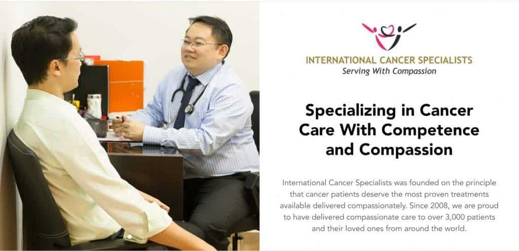 best oncologist in singapore