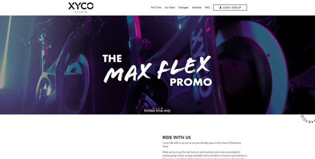 best spin class in singapore_xyco