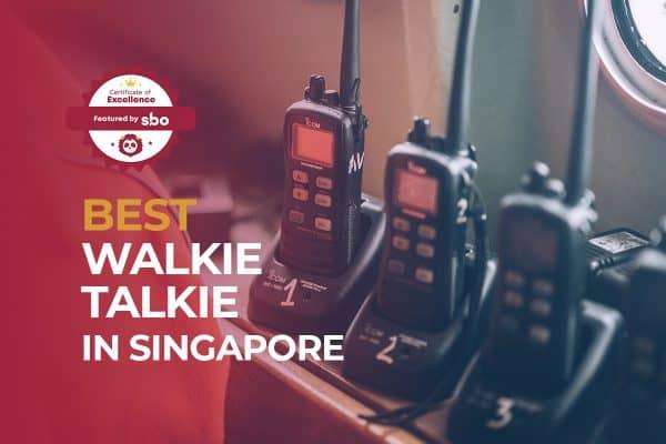 best walkie talkie in singapore