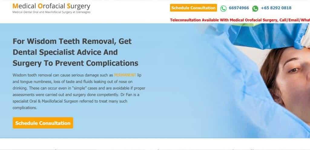 wisdom tooth removal singapore