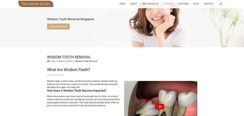 best wisdom tooth removal in singapore_the dental studio