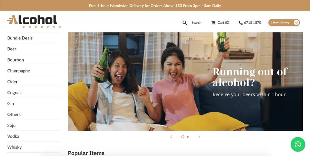 best alcohol delivery in singapore_alcohol express