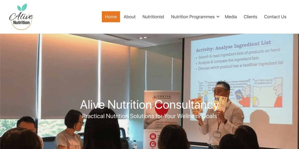 best nutritionist in singapore_alive nutrition consultancy