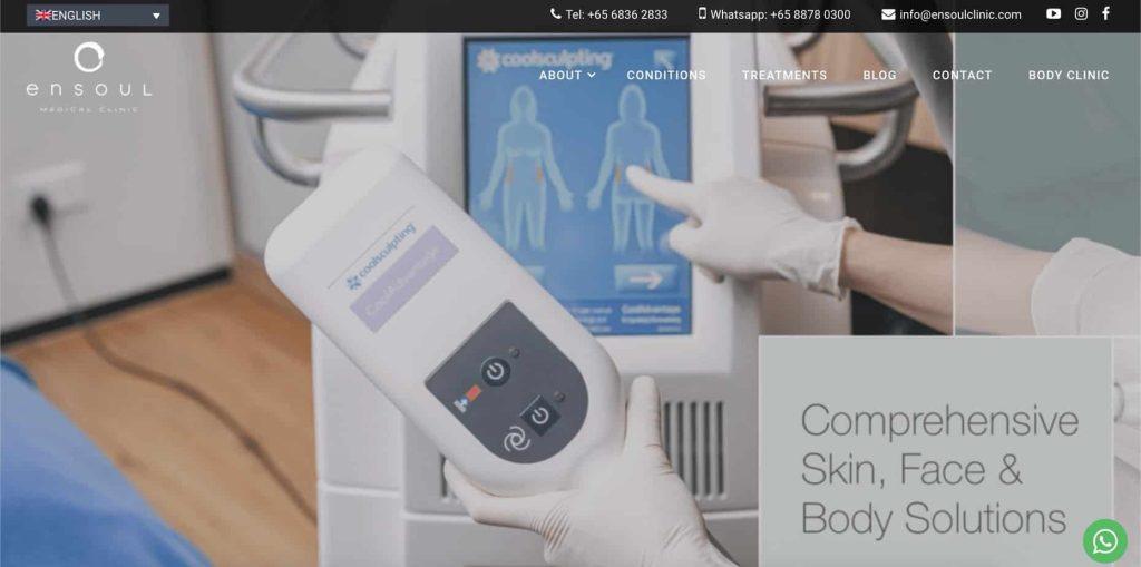 best pigmentation treatment singapore_ensoul medical clinic