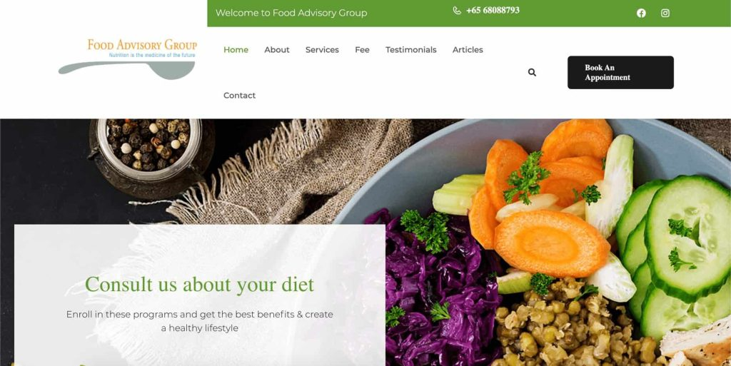 best nutritionist in singapore_food advisory group