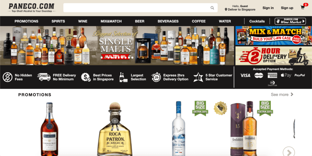 best alcohol delivery in singapore_paneco