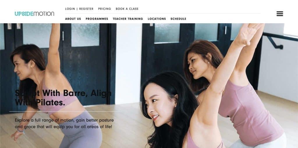 best pilates studio in singapore_upside motion