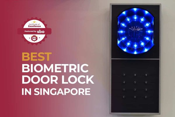 featured image_best biometric door lock in singapore