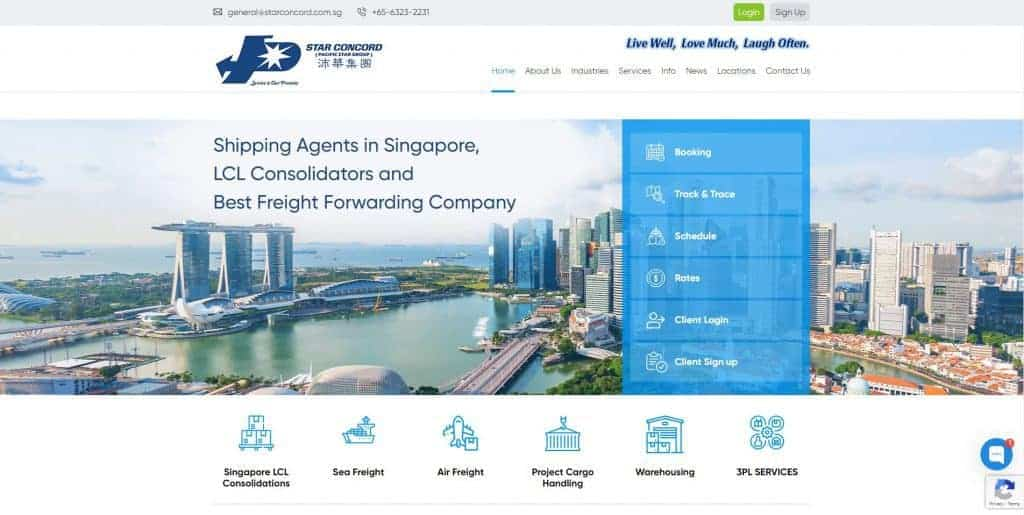 best freight forwarder in singapore_star concord
