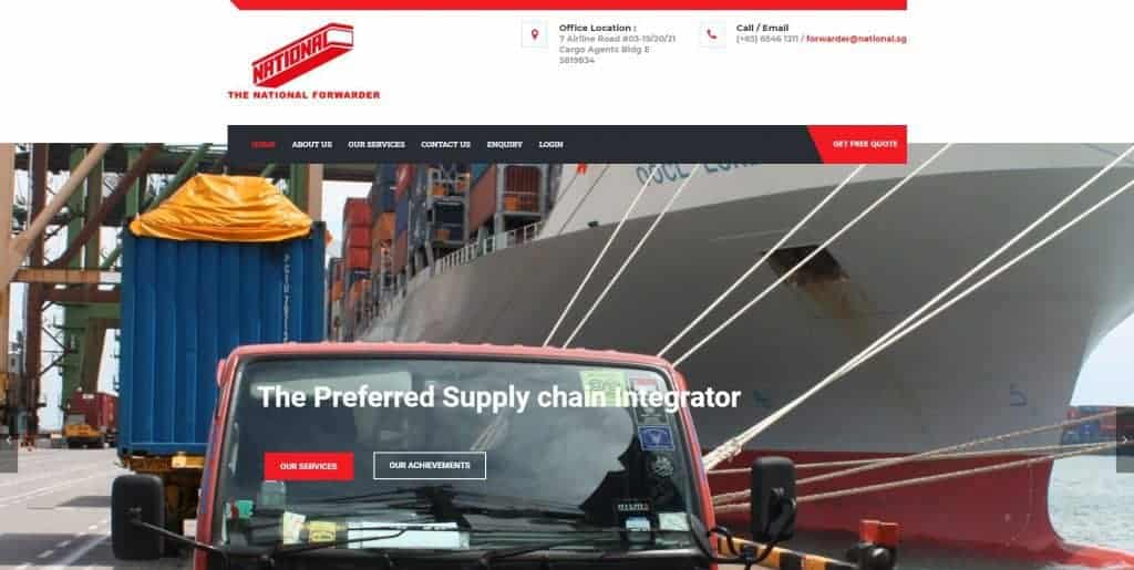 best freight forwarder in singapore_the national forwarder