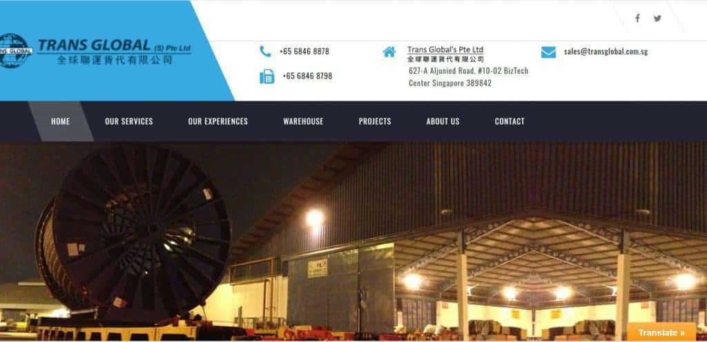 best freight forwarder in singapore