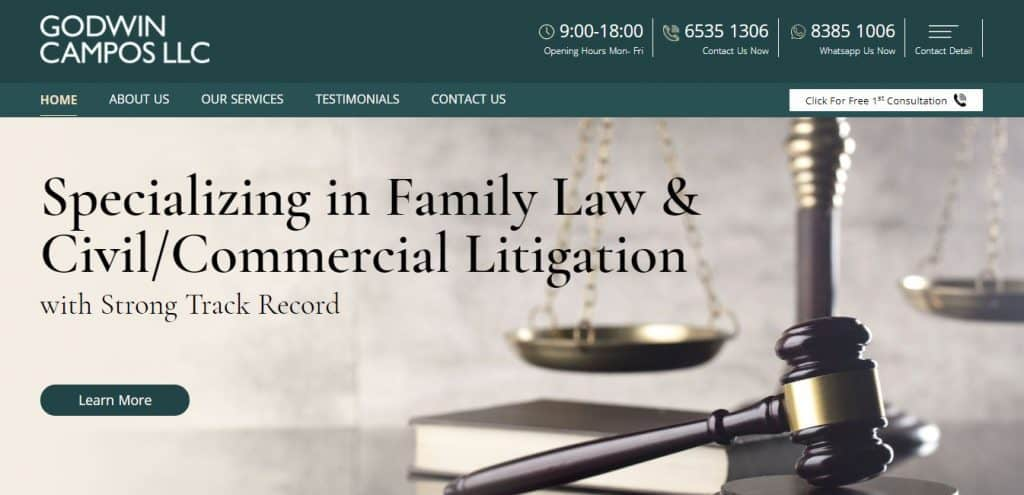 10 best litigation lawyers in singapore
