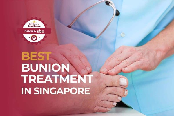 best bunion treatment in singapore