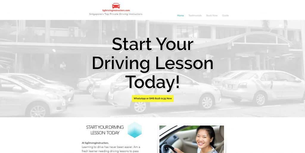best private driving instructor in singapore_sgdrivinginstructors