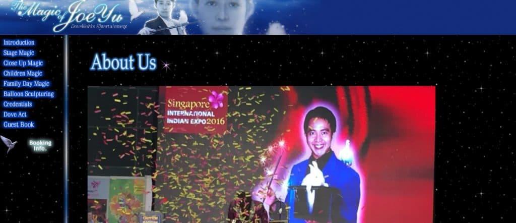 best magician in singapore_the magic of joe yu