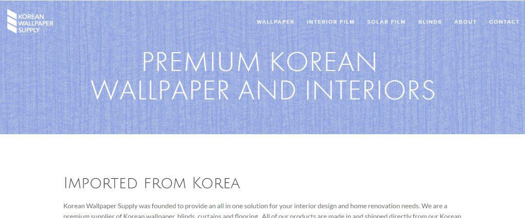 best places to buy home decor in singapore_korean wallpaper supply