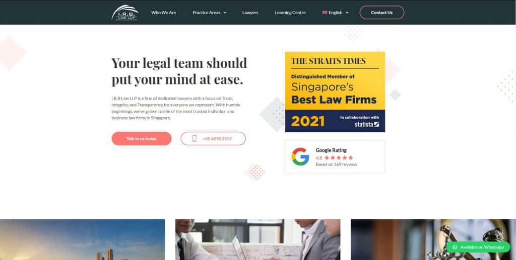 litigation lawyer in singapore_irb law llp