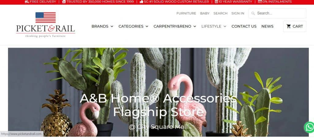 best places to buy home decor_picket&rail