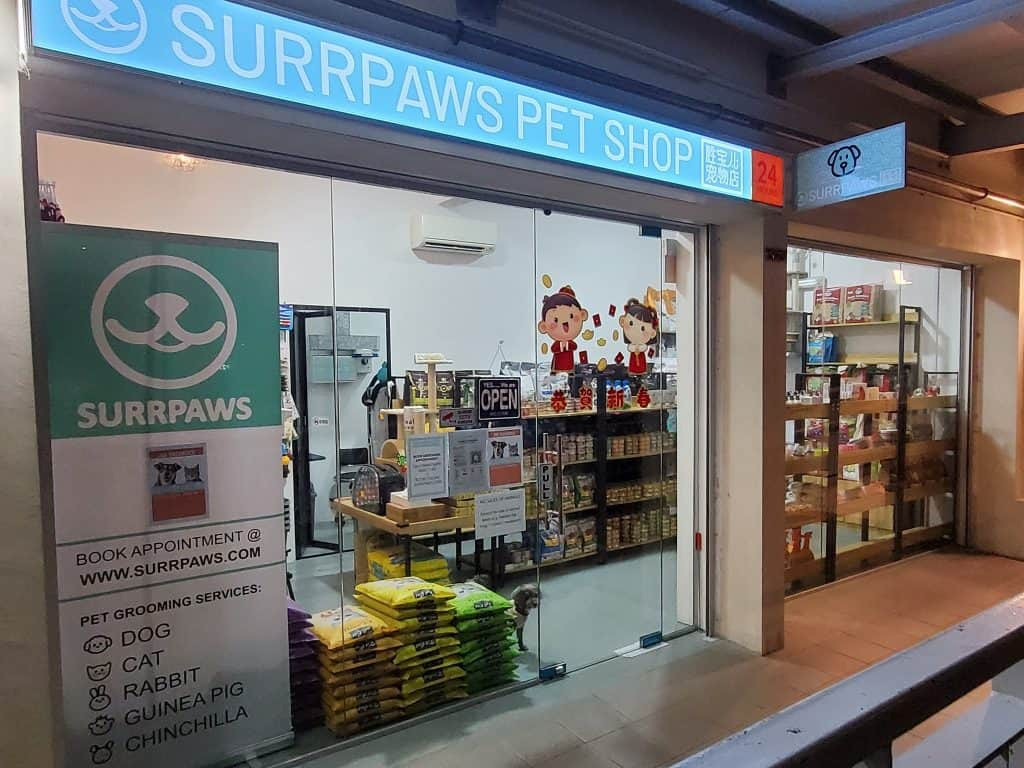 best dog grooming in singapore_surrpaws