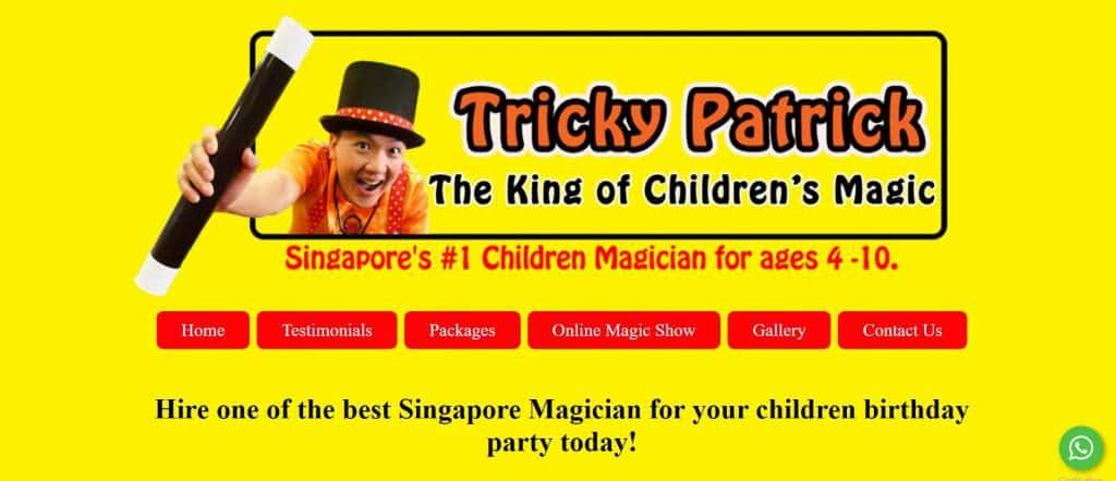 best magician in singapore_tricky patrick