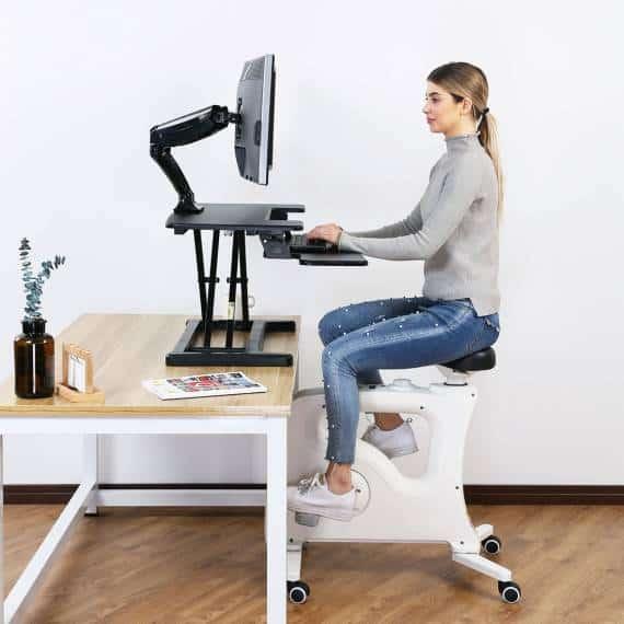best standing desk in Singapore (Ergoworks - Marina Square)