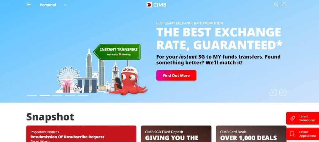 CIMB Education Loan in Singapore