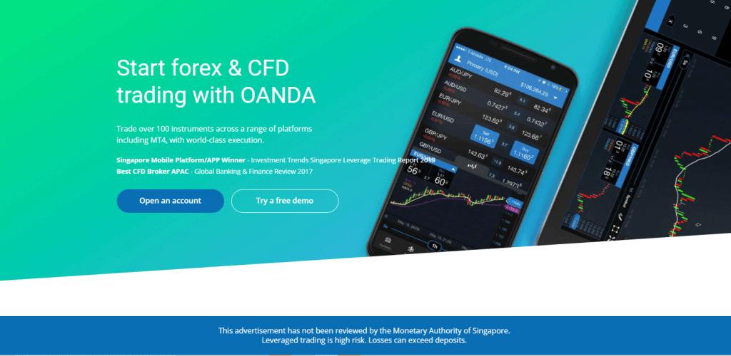 ONADA best online trading platforms in Singapore