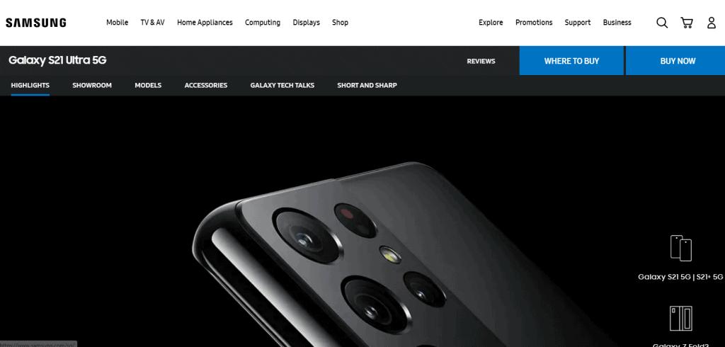 Samsung Galaxy S21 Ultra best battery life phone