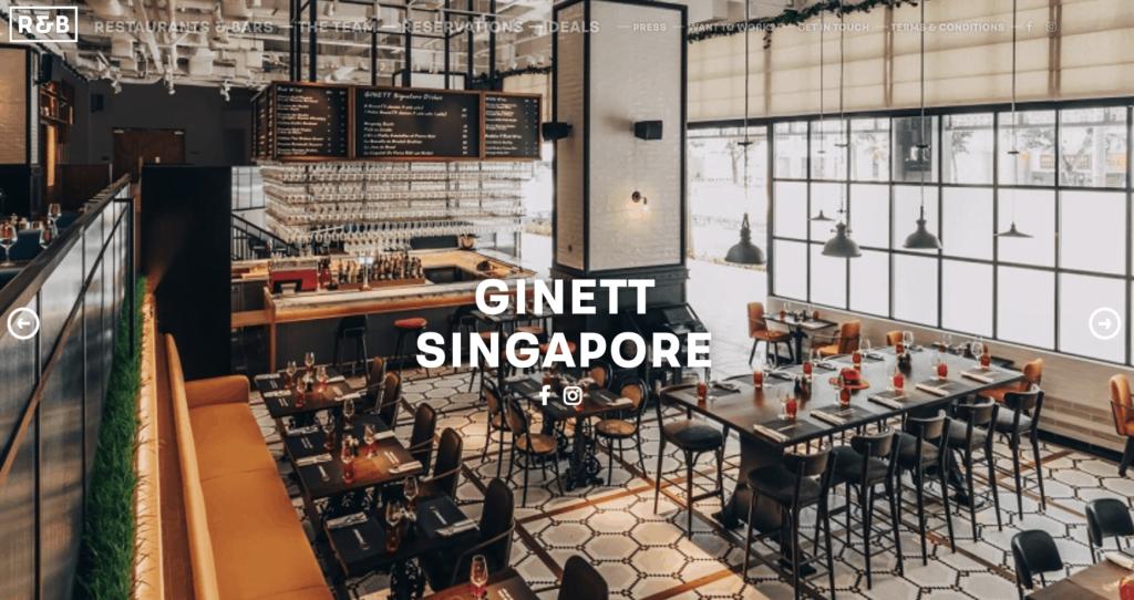 Best Wine Bar Singapore - Ginett